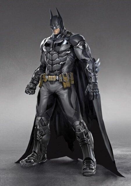 Бэтмен. Развертки для Eva Foam. Batman Arkham Knight Armored Batsuit 8.04
