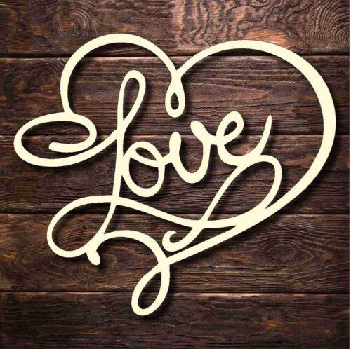 Топпер Love