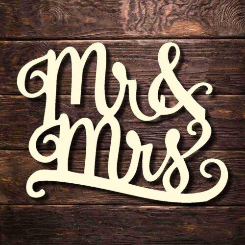 Топпер Mr Mrs